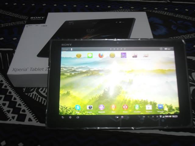 Sony Xperia Tablet Z (dok. Cech)