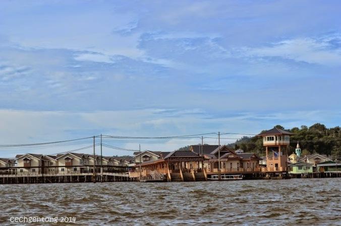 Kompleks Cluster di Kampong Ayer