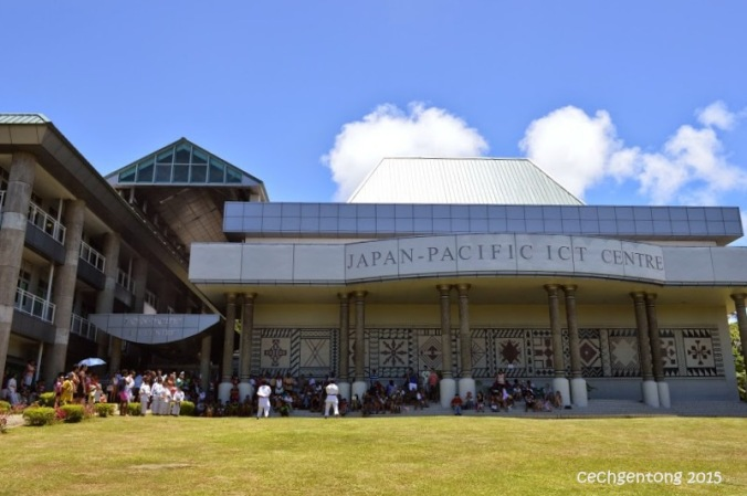 Japan-Pacific Center ITC di USP nan megah