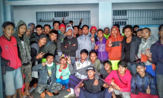 Foto bersama ABK Indonesia (dok. Cech)